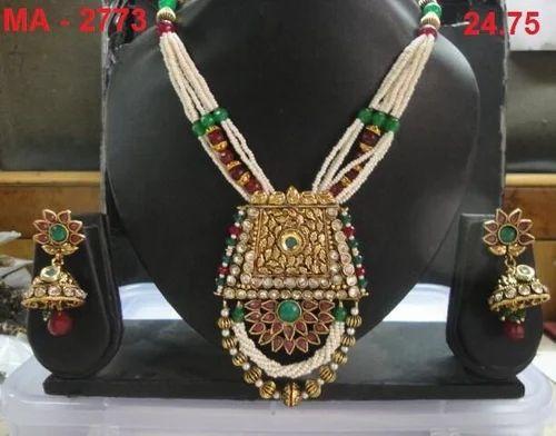 Oriana Art Jewels Moti Bandhaai Designer Set
