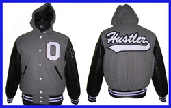 Hood Collar Team Varsity Jacket