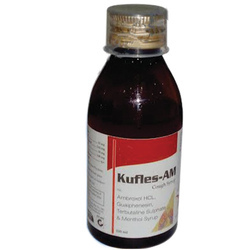 Ambroxol HCL Guaiphenesin & Terbutaline Sulphate Syrup