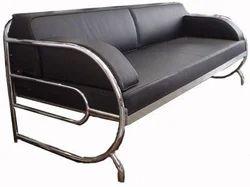 Designer Stainless Steel Sofa Set, For Home, Restaurant