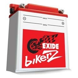 Amptek Exide Bikerz Batteries, Capacity: Vary