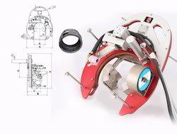 Orbital Open weld head welding machine