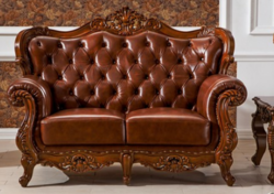 Wooden Carving Sofa Set