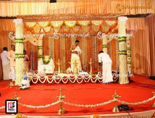 Wedding Stage Decoration Banquet Hall Service Provider From