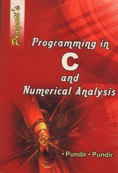 C Programming And Numerical Analysis Book