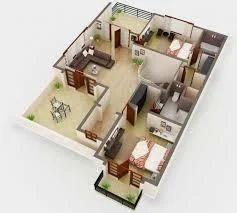 3D Floor Plan Services 3D Floor Plan in Ahmedabad