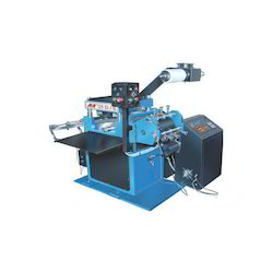 High Speed Plain Barcode Label Die Cutting Machine
