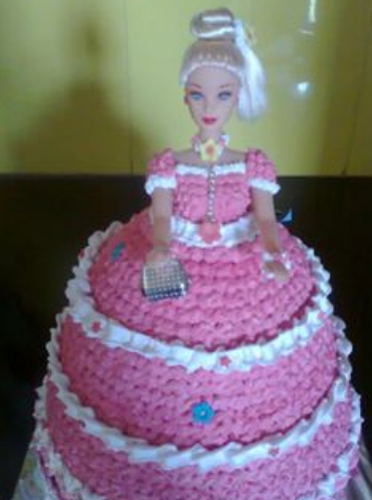 Barbie Doll Cake Bakery Confectionery Products