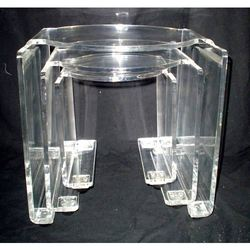 Acrylic Table Set