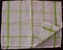Cotton Check Kitchen Towels