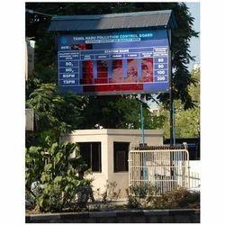 fixo vision Pollution Parameter Display Board, 230v, Red
