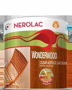 Wonderwood Clear Acrylic Lacquer Wood Coating Kensai Narolac