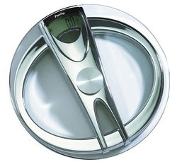 Silver Digital Manual Weight And Height Weighing Scale Unit