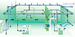 chilled water piping design