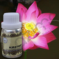KAZIMA Pure & Natural Pink Lotus Attar Oil - 100%