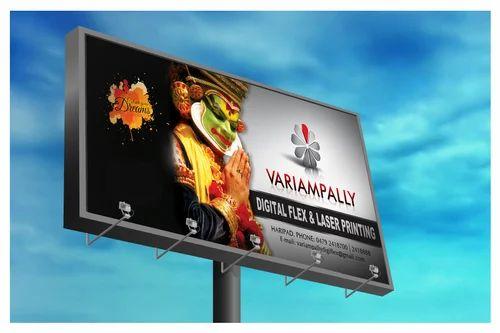 Outlet Branding Hoarding Sign Board Manufacturer From Delhi