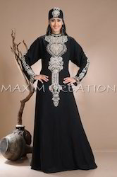 Ancient Arabic Maxi Dress Abaya