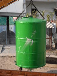 Conical Bottom FRP Tank
