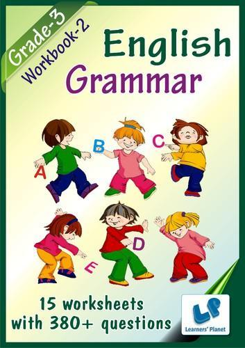 Grade 3 English Grammar Workbook 2 My I Book Store Ahmedabad
