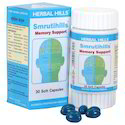 Herbal Brain Health Supplement - Smrutihills 30 Soft Capsules