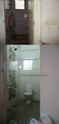 Toilet Floor Renovation