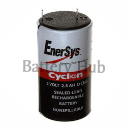 2v 2.5 Ah Cyclone D Type Batteries