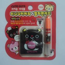 Cute Guy Diary and Pen Set