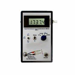 High Resistance Meter Calibration Service