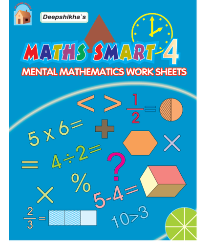 Mathematics Work Sheets - Maths Smart 4 Books Manufacturer from New ...