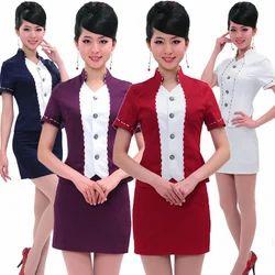 Spa uniform beauty work wear manufacturer from mumbai for Spa uniform patterns