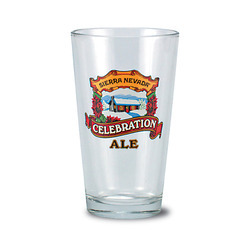 Custom Printed Beer Glass
