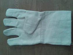 Cotton White Hand Drill Gloves