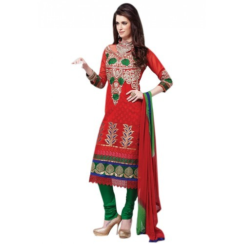 f6d18b41c7 Embroidered Dress Material