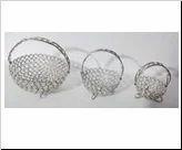 Crystal Basket with Handle