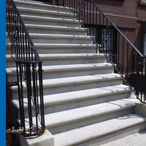 Fancy Exterior Stair Rail