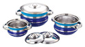 Multi Colored Dinnerware Set