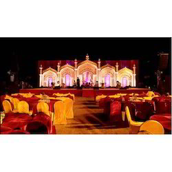 Temple Theme Stage Decoration Services