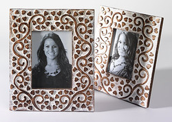Carved Wooden Photo Frames