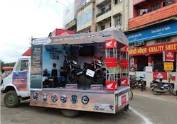 Road Show Demo Van Activities