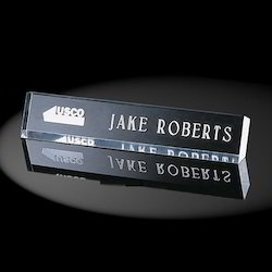 Acrylic Black Name Plate
