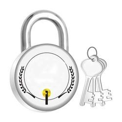 Link Brass Pad Lock, Packaging Size: <10 Piece