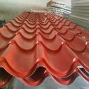Stainless Steel Color Coated Cold Rolled Water Proof Tile Profile Roofing Sheet, Width: 10 - 600 Mm