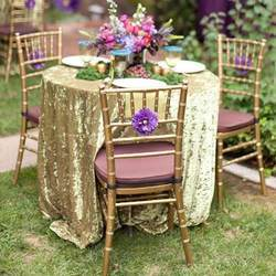 Fabric 100% Cotton Golden Tablecloth Fabric