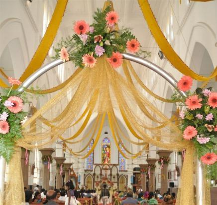 Petals The Flower Shop Coimbatore Service Provider Of Church Decoration And Flower Bouquet