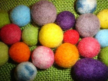 Wool Felt Ball