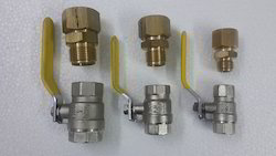 Isolation Valves With Adapters
