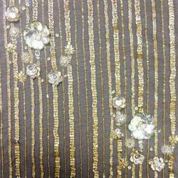 Embroidered Bridal Fabric