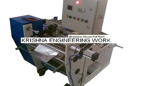 Aluminum House Foil Slitting Rewinding Machine