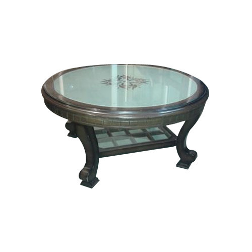 Simple tea table 500x500 Beautiful - Inspirational square wood and glass coffee table New