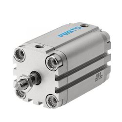 Festo Compact Pneumatic Cylinder, Dimension/size: 80mm